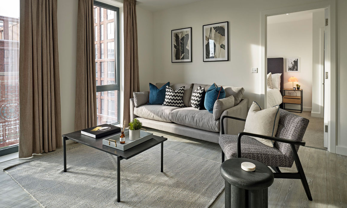 One Bedroom Apartments - Oxbow